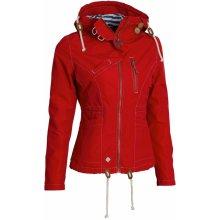 Bunda podzimní dámská WOOX Drizzle Jacket Ladies' Red