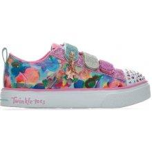 Skechers Children Girls Twinkle Toes Breeze 2.0 Trainer Multi colour 977eef5daa