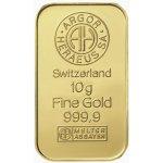 Heraeus Argor Zlatý slitek 10 g