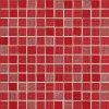 NovaBell Mosaico 2,5x2,5 Corallo - obkládačka mozaika 30 x 30 červená RVW550L Royale