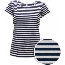 Dámské námořnické triko Anne pruhované modrobílé