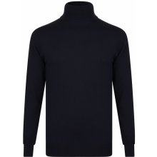 French Connection Neck Knitted Jumper Ulility Blue