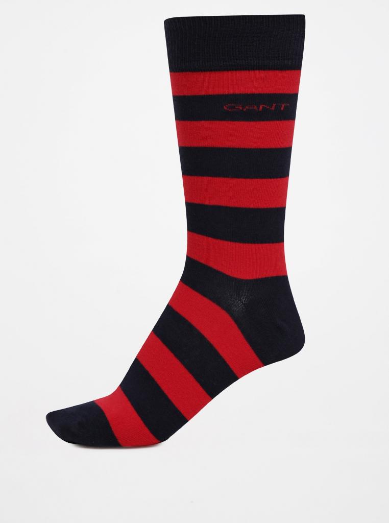 36c3d084f6d Gant Červeno-modré pánské pruhované ponožky alternativy - Heureka.cz