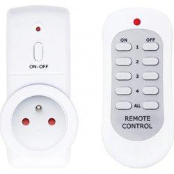 Dálkově ovládaná bezdrátová zásuvka TIPA sada 1+1 (3680W)