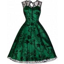 Lindy Bop dámské retro šaty Frankie 8226 zelená b873358f86d