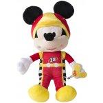 IMC toys Mikro Trading Mickey Mouse závodník plyšový 30cm na baterie se zvukem