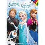 Omalovánky Frozen ledové království > varianta omalovánky