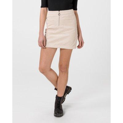 Vero Moda Cordatine sukně dámské béžová