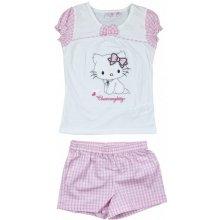 Letní set Hello Kitty růžová bílá