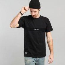 Backyard Cartel Corp T Shirt Black černá