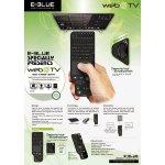 Dálkový ovladač E-BLUE WEBTV01