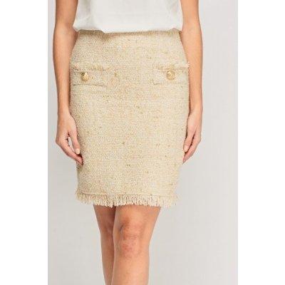 Jaune Rouge sukně teplá béžová