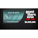 Grand Theft Auto Online Megalodon Shark Cash Card 8,000,000$
