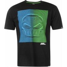 No Fear Motocross Graphic T Shirt Mens Black/Skull