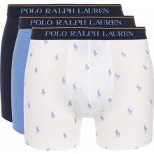 623f688920 Boxerky 3 ks Polo Ralph Lauren Modrá Bílá