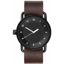 TID Watches No.1 Black/ Walnut Wristband