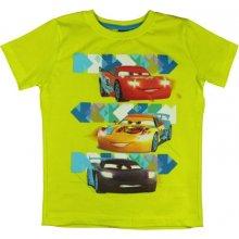 E plus M Chlapecké Tričko Cars zelené