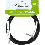 Fender Performance Series Instrument Cable 3m Angled BLK
