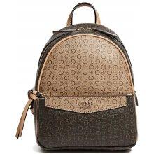 f08bb00b915 Guess batoh Leonore logo backpack hnědý