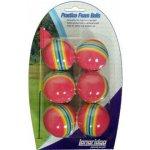Longridge Tréninkové míčky barevné 6 ks