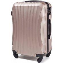 Wings Cestovní kufr skořepinový mini bronzový