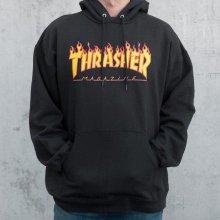 Thrasher Thrasher mikina Flame Hoody Black b1130809367