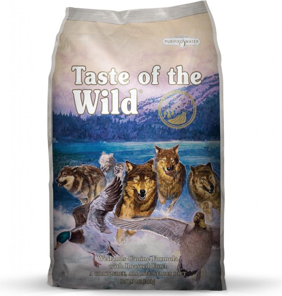 Taste of the Wild Wetlands Canine Formula(drůbež)2kg