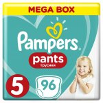 Pampers Active Pants 5 Junior Mega Box 11-18 kg 96 ks
