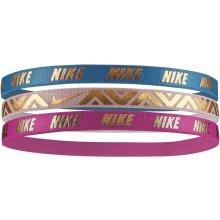 Čelenka Nike METALLIC HAIRBANDS 3 PACK NJNG8457OS-457 55f264aedd