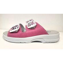 Sante zdravotní obuv Sante nazuvák Art. 517 33 10M 79 káro růžové 4869a5a8b72