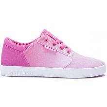 SUPRA - Kids Yorek Low Pink Fade-White