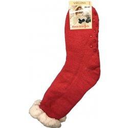 7f949c1884f Virgina Spací ponožky jednobarevné tmavě růžové 1 pár od 119 Kč - Heureka.cz