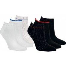 dámské letní bavlněné ponožky RS bílá