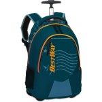 BestWay batoh na kolečkách 40028-5000 modrý
