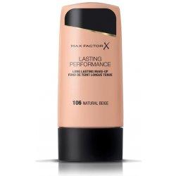 e1ae1f9f45 Max Factor Lasting Performance tekutý make-up 106 Natural Beige 35 ml