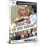 """""""Pane, vy jste vdova!"""" (Klenoty českého filmu) Remasterovaná verze DVD"""