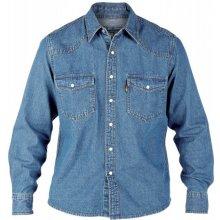 Duke košile pánská Western Style Denim shirt riflová jeans