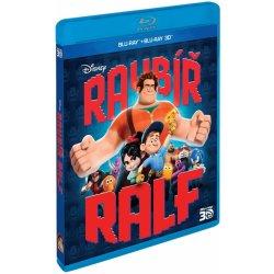 Raubíř Ralf 2D+3D BD