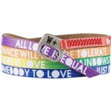 We Positive Barevný wrap náramek LL001 Love Rainbow Color