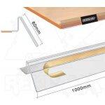 Samolepící cenovková regálová lišta A-Z Reklama CZ se zábranou 60x1000mm