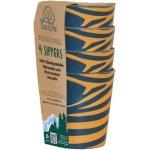 EcoSouLife Biodegradable Sippers 4ks zebraful 0,25l