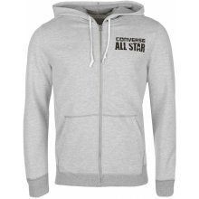 1049d2ed24c Converse Full Zip Hoodie Grey Heather 727287