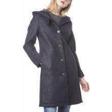 Blauer dámský kabát modrý
