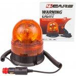 4CARS Výstražný maják oranžový 12V