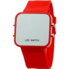Zrcadlové LED Jelly MA červené