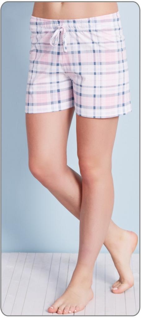 Vienetta Secret Alena dámské pyžamové šortky růžová od 149 Kč - Heureka.cz 304a5225f3