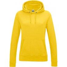 Dámská klokánka s kapucí Just Hoods Žlutá 829bbee27b