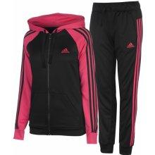 Adidas Re Focus Tracksuit Ladies Black/Pink