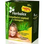 Herbalex detoxikační náplasti s konopím 14 ks