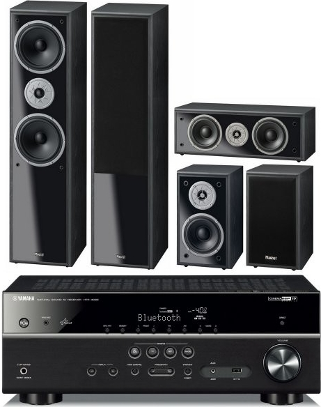 dom c kino set yamaha htr 4068 magnat monitor supreme. Black Bedroom Furniture Sets. Home Design Ideas